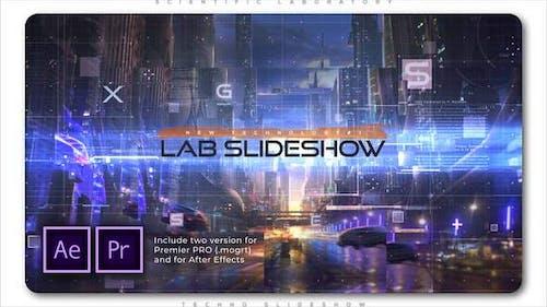 Scientific Laboratory Techno Slideshow