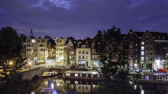 Thumbnail for Amsterdam Night Time Lapse