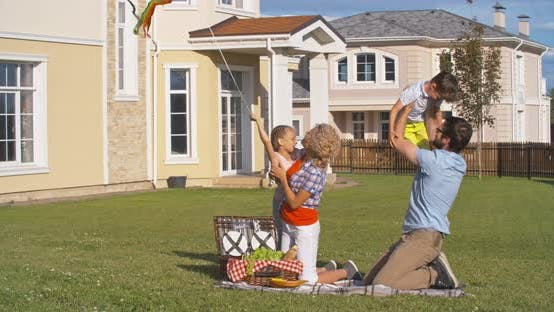 Thumbnail for Family Enjoying Summer Weekend