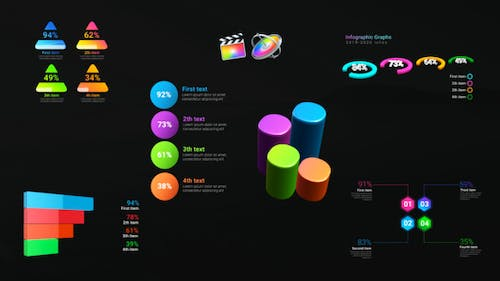 Infographic Dynamic Graphs