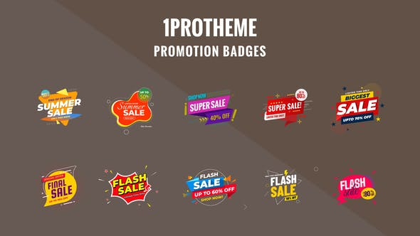 Thumbnail for Badges Sale Promo V18