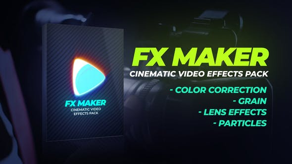 Thumbnail for Pack d'Effets vidéo FX Maker