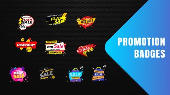 Thumbnail for Badges Vente Promo V19