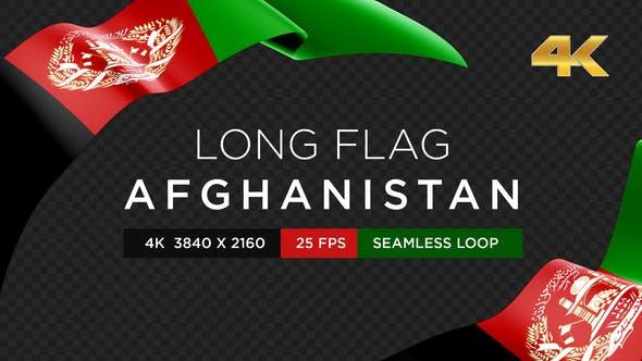 Long Flag Afghanistan