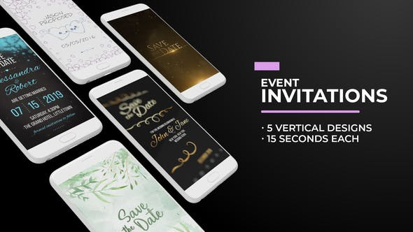 Thumbnail for Invitaciones para eventos en redes sociales