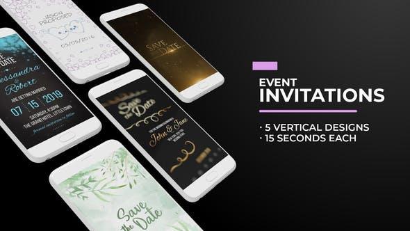 Social Media Event Invitations