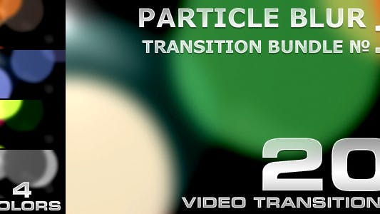 Thumbnail for Particle Blur Transition - 1