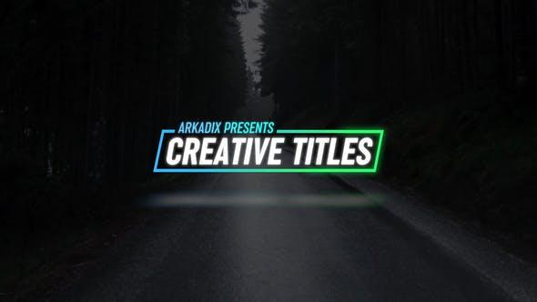Thumbnail for Kreative Titel