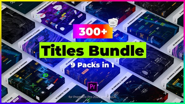 Thumbnail for 9 in 1 Titles Pack Bundle