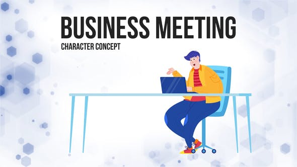 Thumbnail for Business meeting - Flat Concept