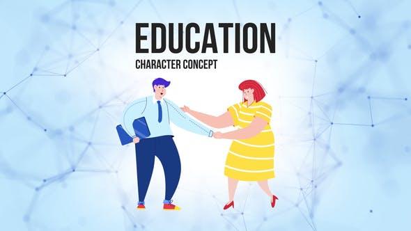 Thumbnail for Education - Flat Concept