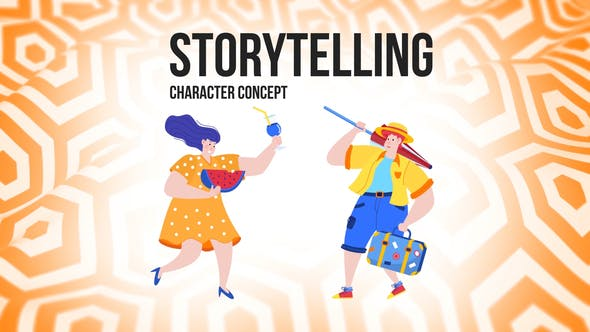 Thumbnail for Storytelling - Flat Concept
