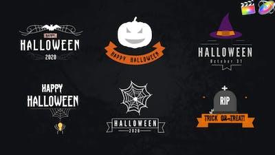 Halloween Titles Pack