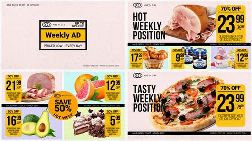 Weekly Ad - Food Online Promo