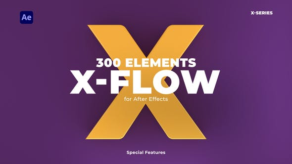 Thumbnail for X-Flow | After Effects