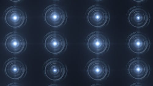 16 Stage Light Effects