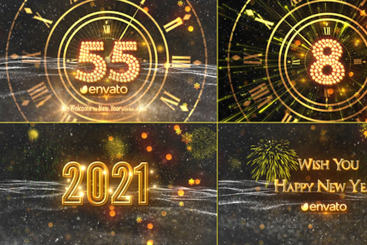 New Year Countdown 2021 By Strokevorkz On Envato Elements