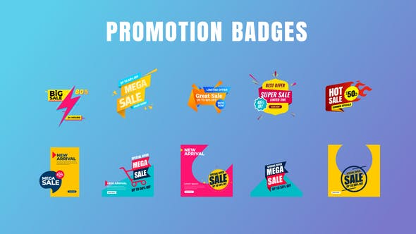 Thumbnail for Badges Sale Promo V20
