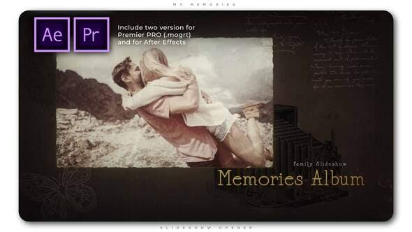 Thumbnail for My Memories Slideshow Opener
