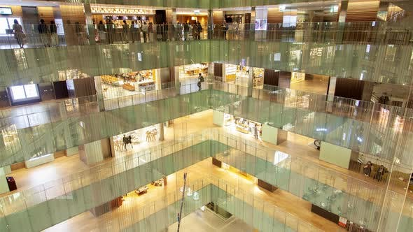 Thumbnail for Shopping Center Inside Interior Customers Tokyo