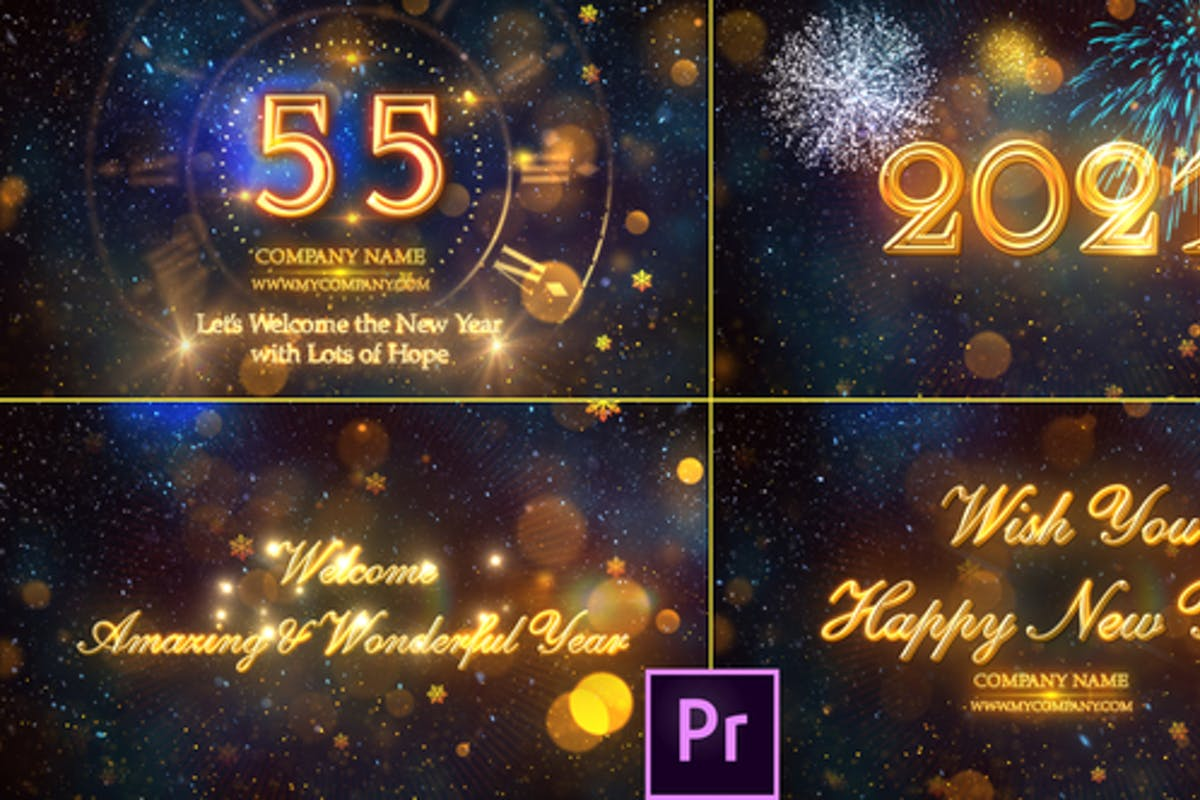 New Year Countdown 2021 Premiere Pro By Strokevorkz On Envato Elements