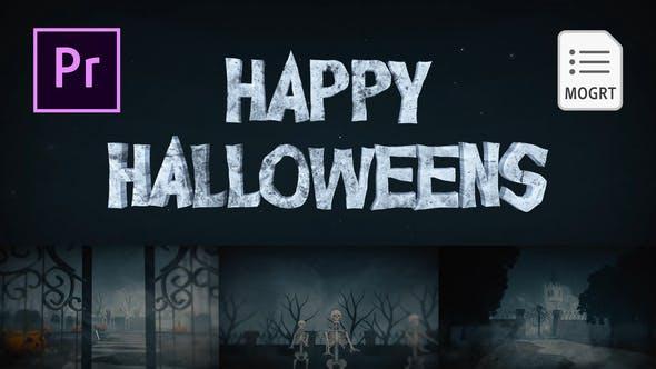 Thumbnail for Halloween pour Premiere Pro