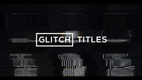 Thumbnail for Glitch Modern Titles & Lower Thirds