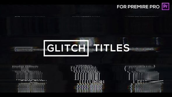 Thumbnail for Glitch Modern Titles & Lower Thirds for Premiere Pro