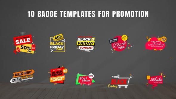 Thumbnail for Badges Sale Promo V21