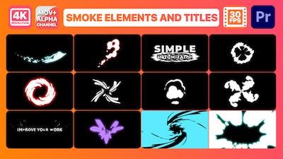 Smoke Pack   Premiere Pro MOGRT