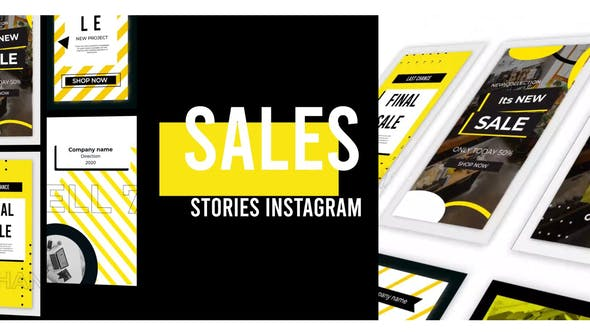 Thumbnail for Sales Stories Instagram