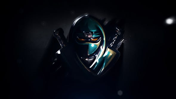 Dark Neon Logo Intro
