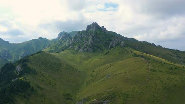 Ciucas Mountains Panorama 6