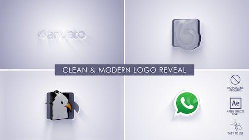 Clean & Modern Logo Reveal