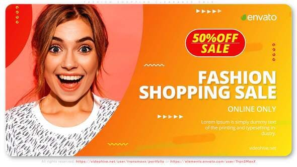 Thumbnail for Fashion Shopping Clearance Sale