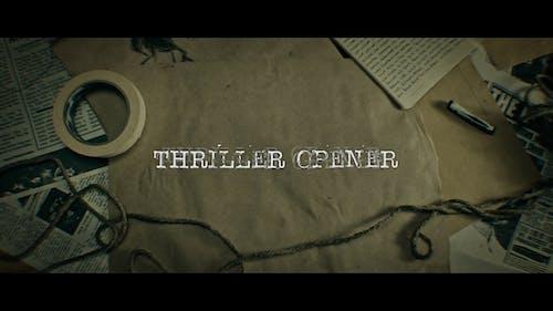 Thriller Opener 4K
