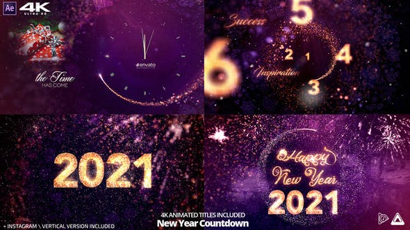 Thumbnail for Special New Year Countdown 2021