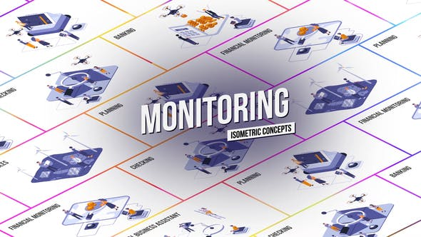 Monitoring - Isometric Concept