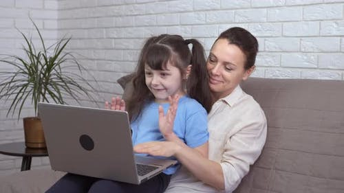 Video Chat with Relatives