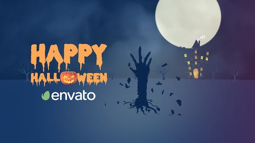 Halloween Creepy Intro | After Effects Template