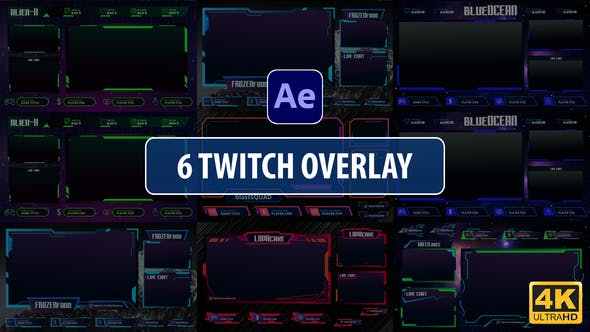 Thumbnail for Twitch Overlay Stream | After Effects