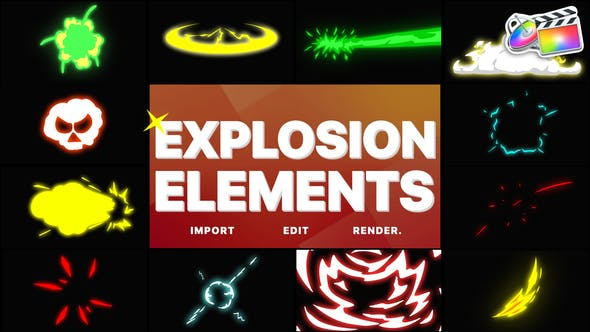 Thumbnail for Éléments d'explosion | FCPX