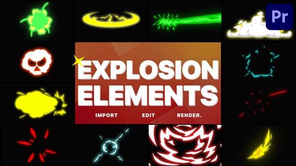 Thumbnail for Éléments d'explosion | Premiere Pro MOGRT