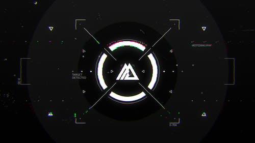 Glitch HUD Logo