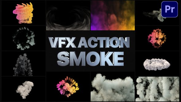 Thumbnail for VFX Action Smoke | Premiere Pro MOGRT