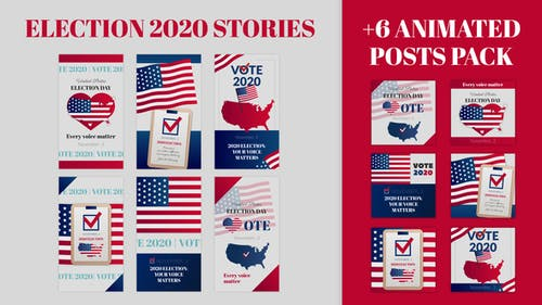 Election Stories and Posts Pack