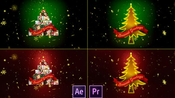 Thumbnail for Christmas Wishes Multi Video - Premiere Pro