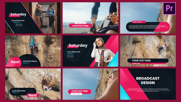 Broadcast Channel identity - Essential Graphics