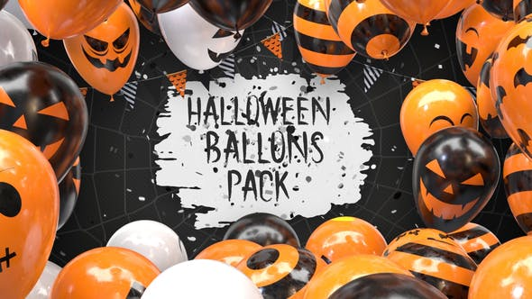 Thumbnail for Halloween Balloon Pack