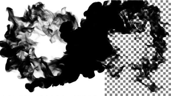 Ink Smoke Ball Collision